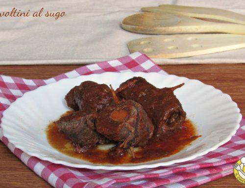 Involtini al sugo, ricetta romana