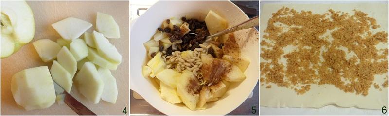 Strudel di mele ricetta con pasta sfoglia il chicco di mais 2