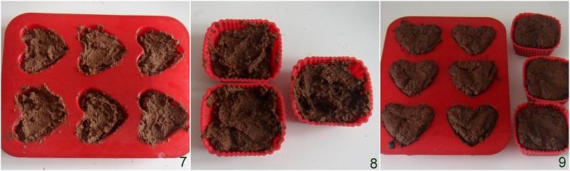 Tortini al cioccolato ricetta con farina di mais il chicco di mais 3