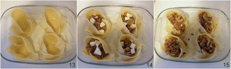 Caccavelle ripiene di salsiccia e funghi ricetta al forno il chicco di mais 5