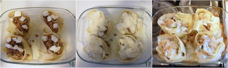 Caccavelle ripiene di salsiccia e funghi ricetta al forno il chicco di mais 6