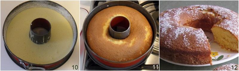 Ciambella al latte caldo ricetta dolce soffice il chicco di mais 4