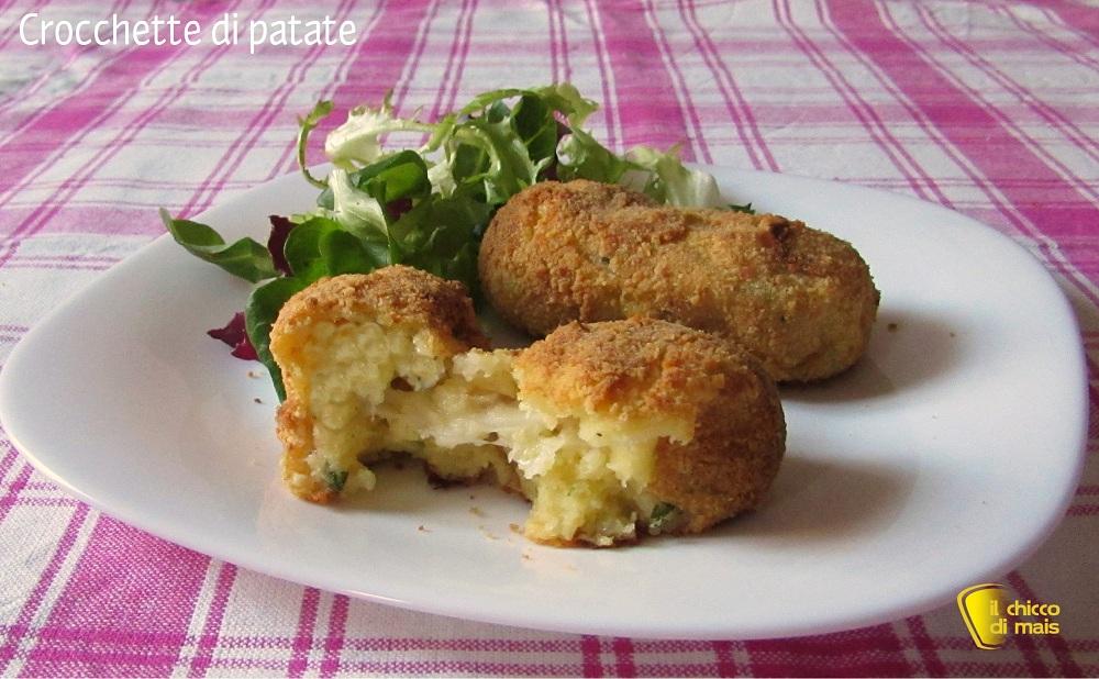 Ricette per il pranzo di Pasqua 2015 Crocchette di patate il chicco di mais