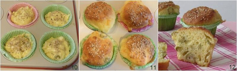 Muffin salati alle olive ricetta buffet il chicco di mais 4