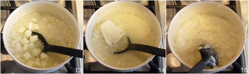 Risotto pere e formaggio brie ricetta raffinata il chicco di mais 5