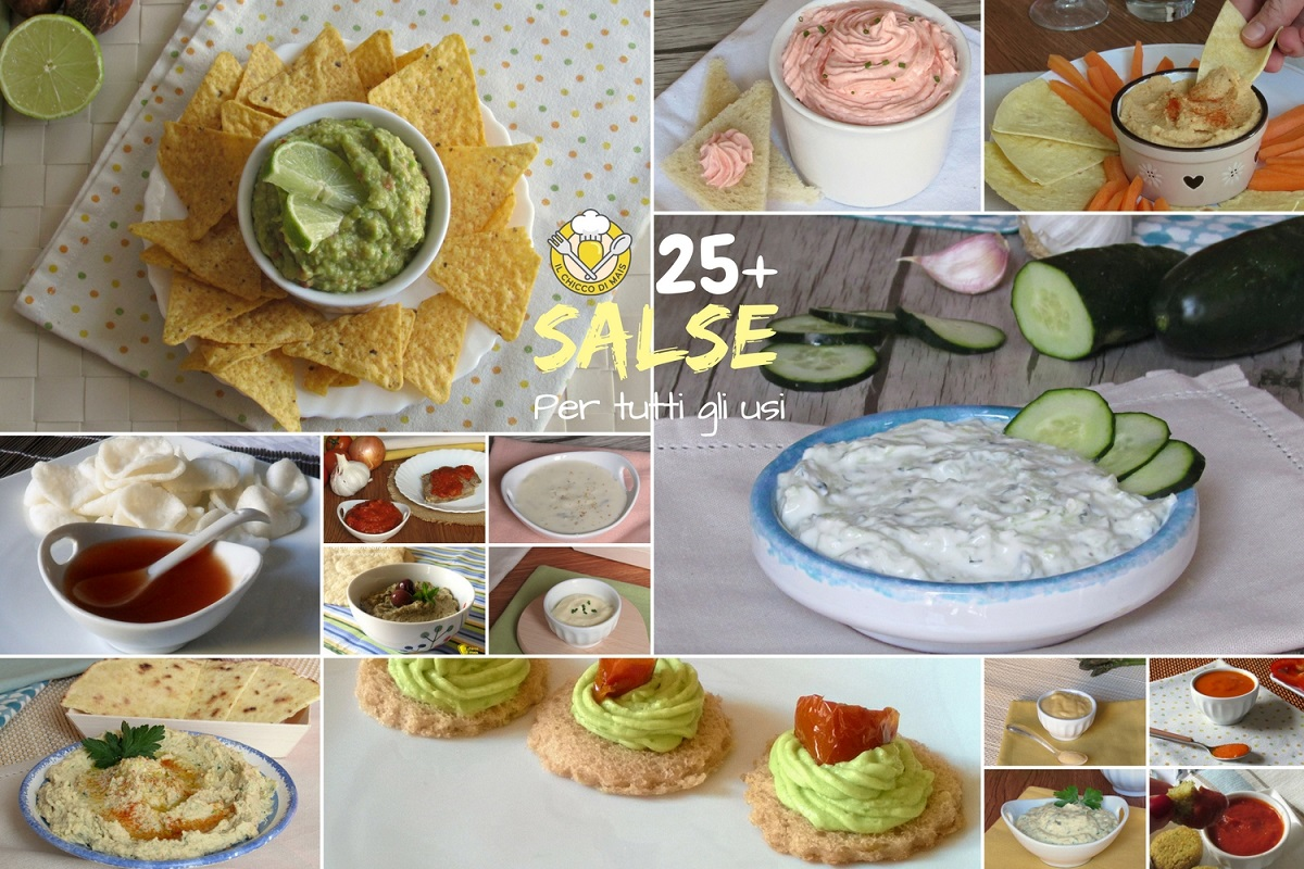 25 salse per tutti gli usi pasta crostini pinzimonio tartine panini insalate condimenti sughi polpette polpettone