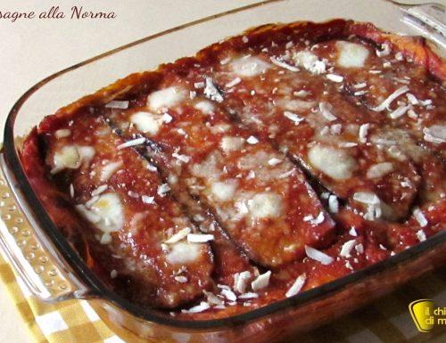 Lasagne alla Norma con melanzane