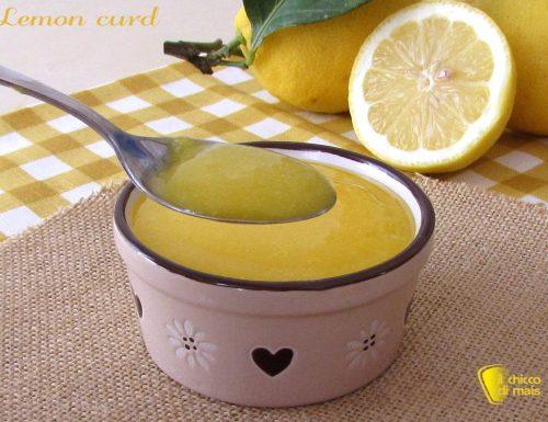 Lemon curd, crema al limone (ricetta originale inglese)