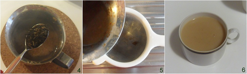 Masala chai o Masala tea, the speziato indiano il chicco di mais 1