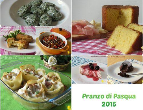 Ricette per il pranzo di Pasqua 2015