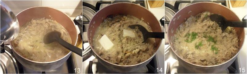 Risotto ai funghi misti ricetta vegetariana il chicco di mais 5
