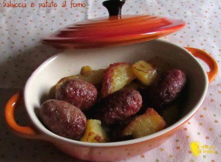 Salsiccia e patate al forno (ricetta facile)