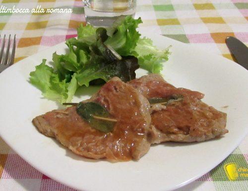 Saltimbocca alla romana (ricetta tradizionale)