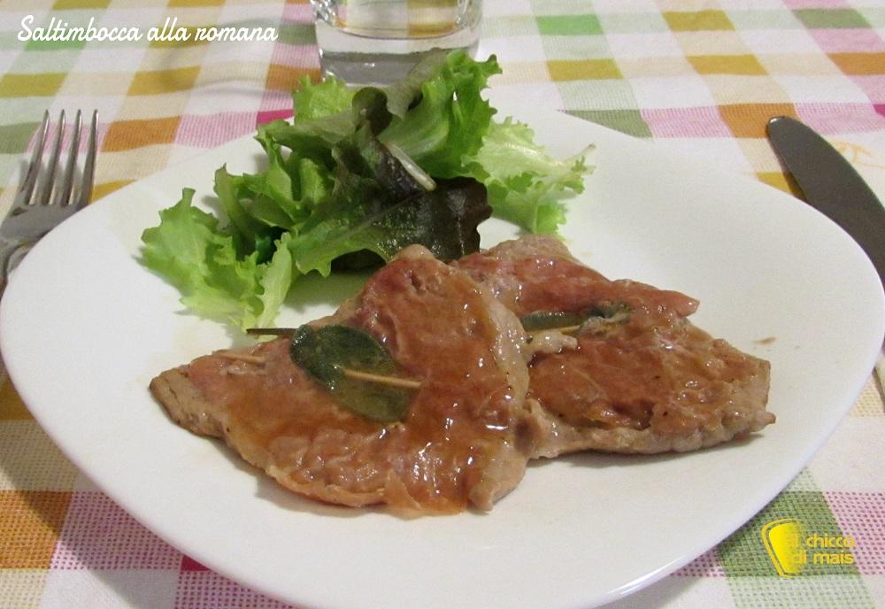 Saltimbocca alla romana ricetta tradizionale il chicco di mais