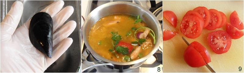 Couscous di pesce con frutti di mare ricetta passo passo il chicco di mais 3