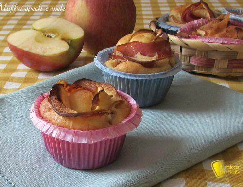 Muffin salati con speck e mele (ricetta picnic)
