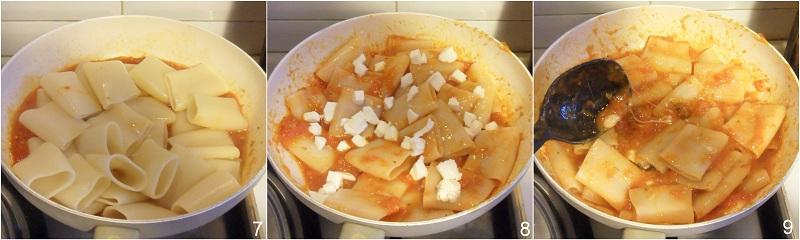 Paccheri alla pizzaiola ricetta semplice il chicco di mais 3