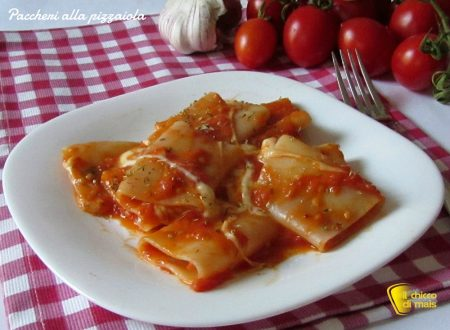 Paccheri alla pizzaiola (ricetta semplice)