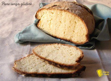 Pane senza glutine con crosta croccante