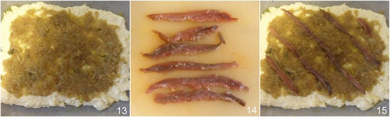 Pissaladiere ricetta focaccia di Nizza il chicco di mais 5