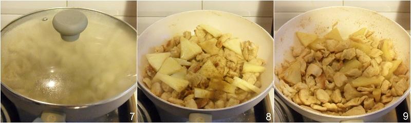 Pollo al curry e ananas ricetta etnica il chicco di mais 3
