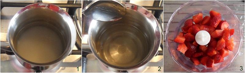 Sorbetto alla fragola, ricetta con e senza gelatiera il chicco di mais 1