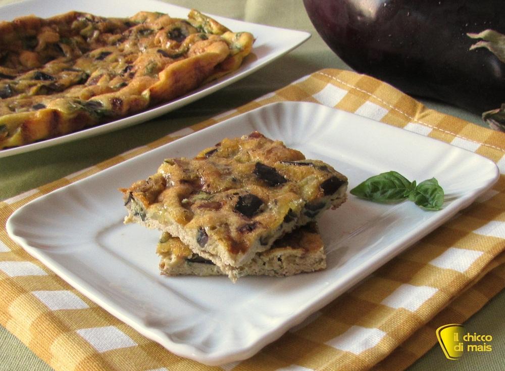 ricette buffet Frittata con melanzane e basilico ricetta buffet il ...