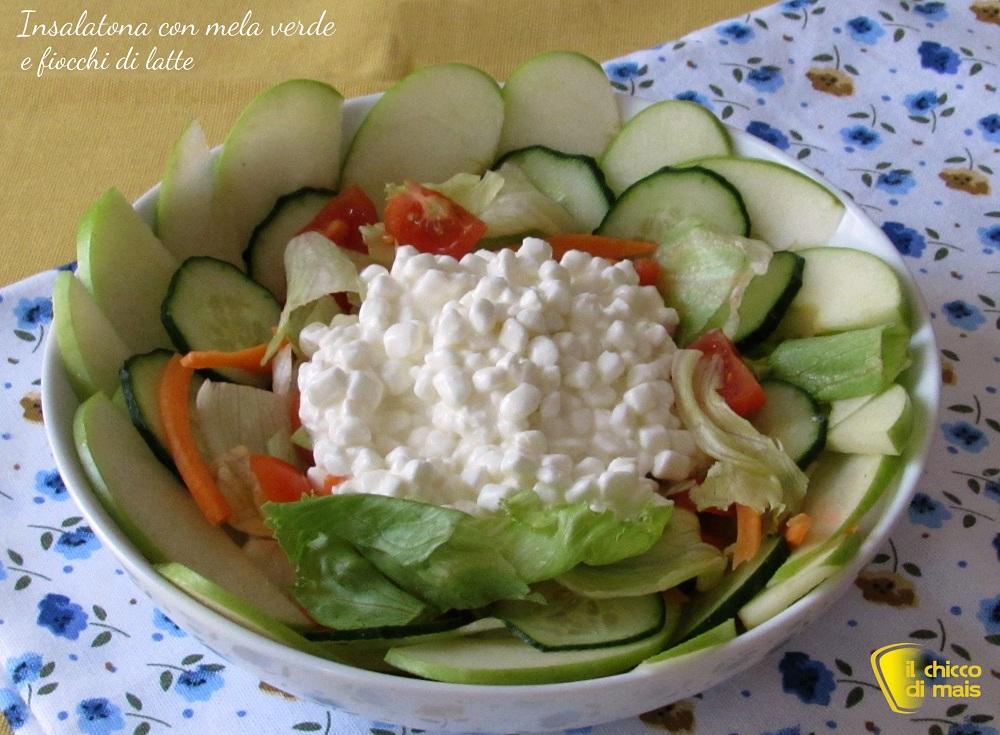 insalatone estive insalata con mela verde e jocca