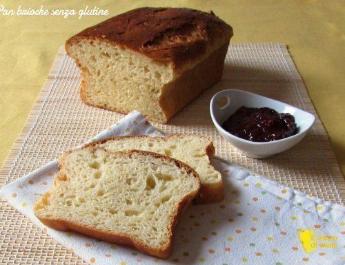 Pan brioche senza glutine (ricetta passo passo)