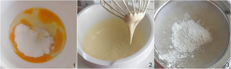 Rotolo dolce con ricotta e crema di fragole ricetta il chicco di mais 1