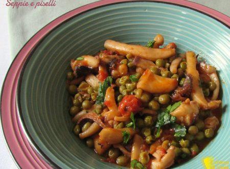 Seppie e piselli, ricetta tradizionale