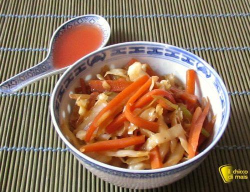 Verdure saltate alla cinese, ricetta
