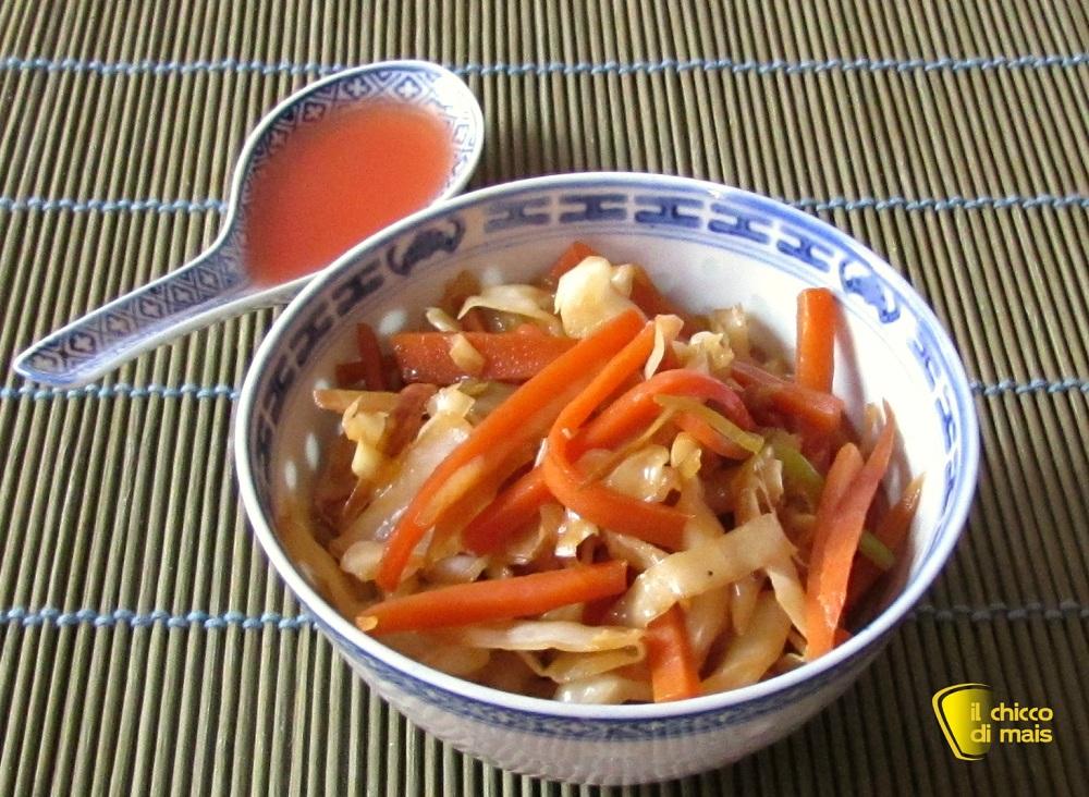 Verdure saltate alla cinese for Ricette cinesi riso