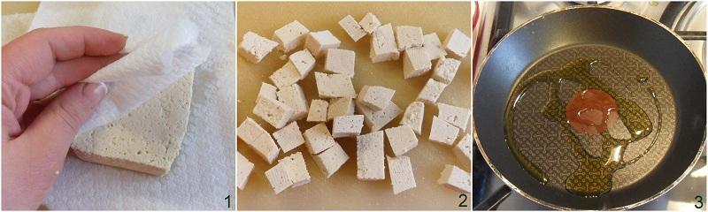 Insalata in barattolo con tofu e ceci ricetta vegan il chicco di mais 1