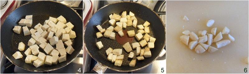 Insalata in barattolo con tofu e ceci ricetta vegan il chicco di mais 2