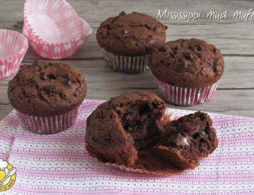 Mississippi mud muffin, ricetta americana