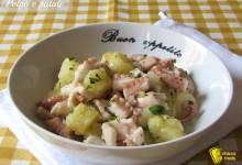 Polpo e patate, ricetta tradizionale