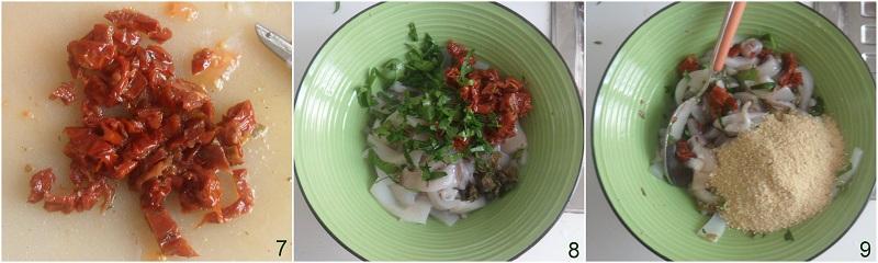 Pomodori ripieni di calamari ricetta il chicco di mais 3