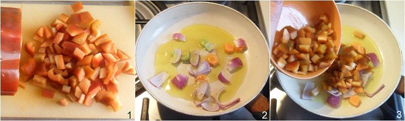 Salsa ai peperoni per pasta crostini e polpette varie il chicco di mais 1