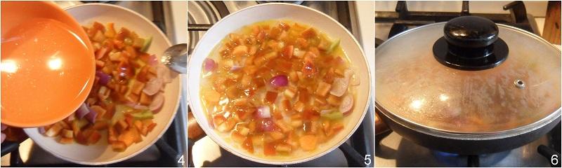Salsa ai peperoni per pasta crostini e polpette varie il chicco di mais 2