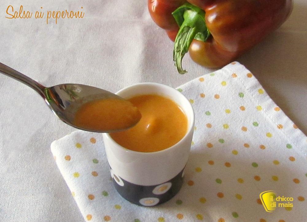 Salsa ai peperoni per pasta crostini e polpette varie il chicco di mais