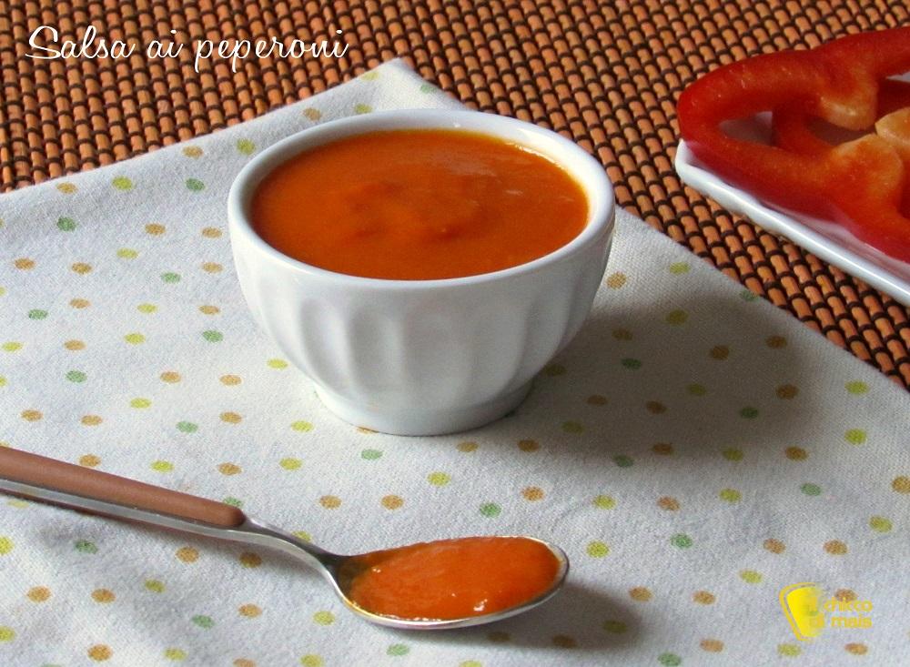 ricette con peperoni salsa ai peperoni per pasta