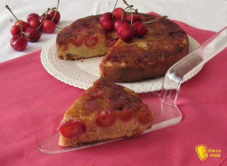 Torta di ciliegie rovesciata, ricetta