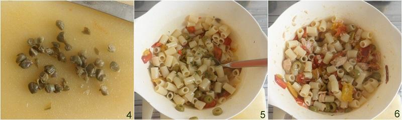 Pasta fredda con tonno e peperoni, ricetta il chicco di mais 2