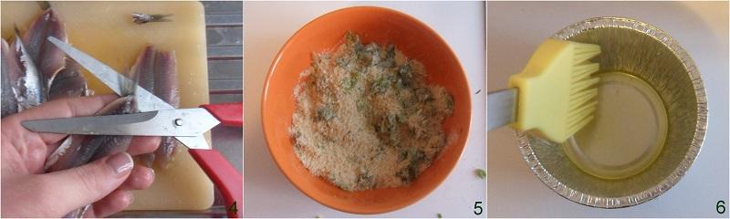 Tortini di alici monoporzione con salsa ai peperoni ricetta il chicco di mais 2