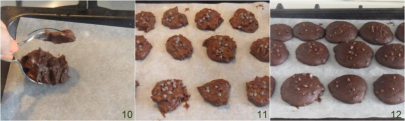 Cookies al cioccolato e yogurt ricetta senza burro e senza olio il chicco di mais 4