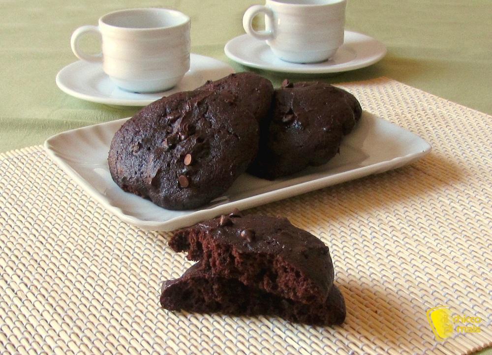 Cookies al cioccolato e yogurt ricetta senza burro e senza olio il chicco di maisjpg