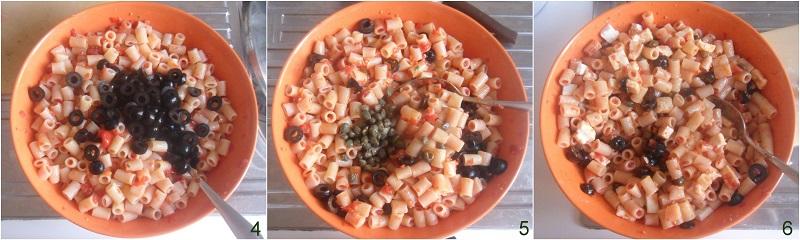 Insalata di pasta con olive e feta ricetta il chicco di mais 2