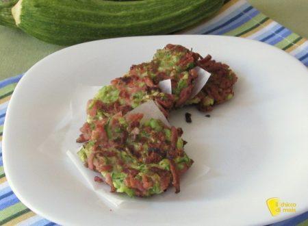 Rosti di zucchine e wurstel, ricetta