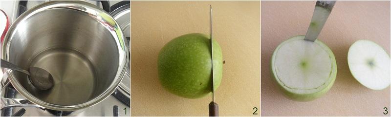 Sorbetto alla mela verde, ricetta con e senza gelatiera il chicco di mais 1
